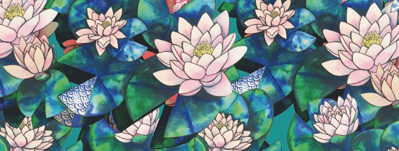 nénuphares fleurs de créativité, valeur de manie V